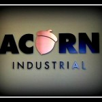 Acorn Industrial sign