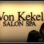 Von Kekel Salon Spa sign