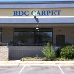 RDC Carpet sign by JD Sign Co