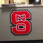 NC State Sign by JD Sign Company