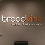 BroadVine dimensional letter lobby sign by JD Sign Co